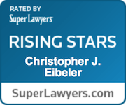 Super Lawyers badge - Christopher J. Eibeler