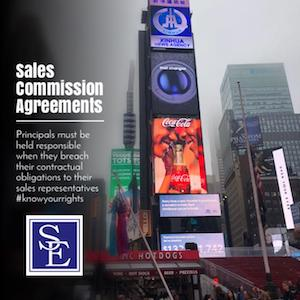 Sales Commission Agreements
