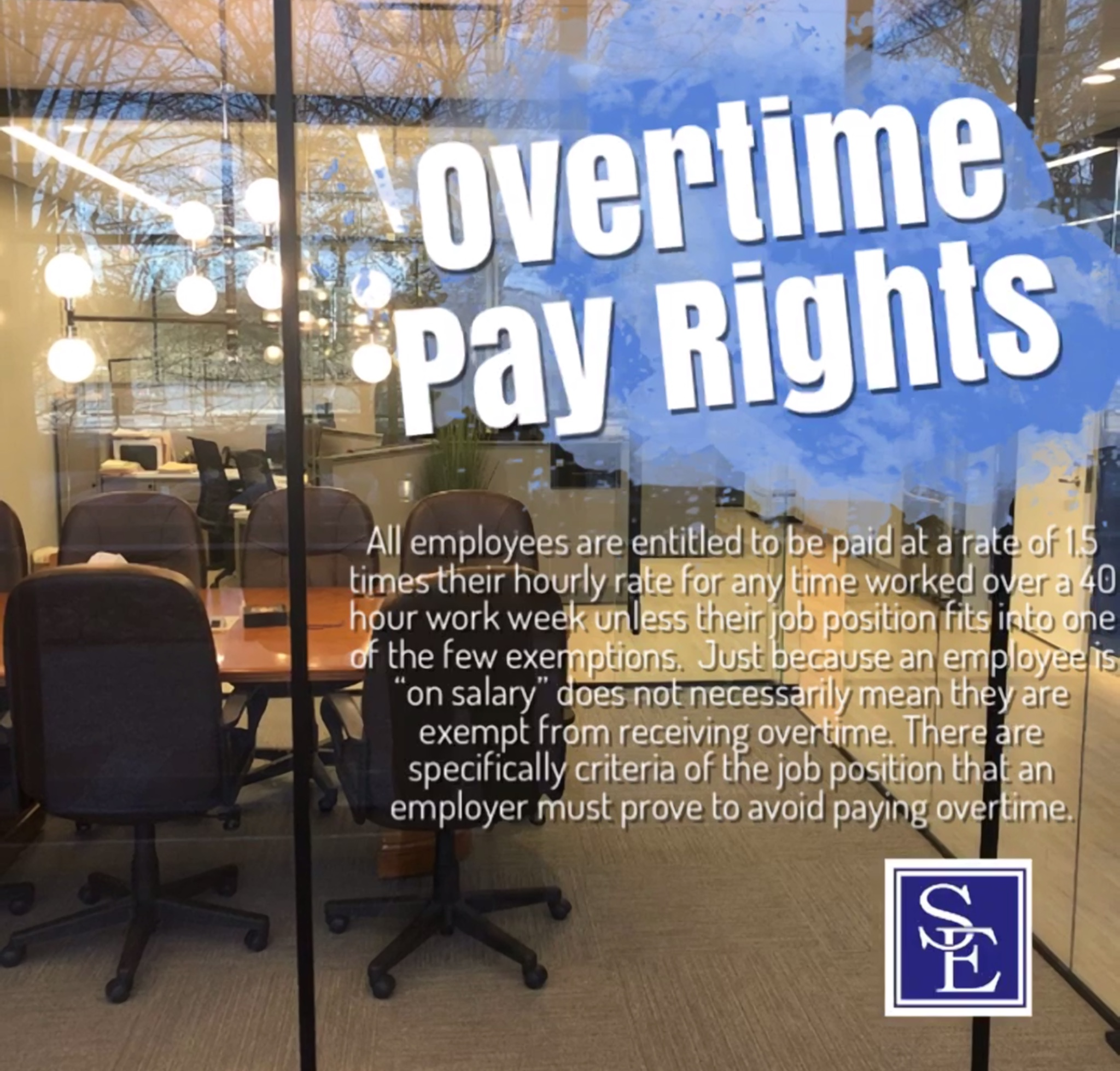 Unpaid Overtime Claims New Jersey Wage Hour Lawyers Smith Eibeler